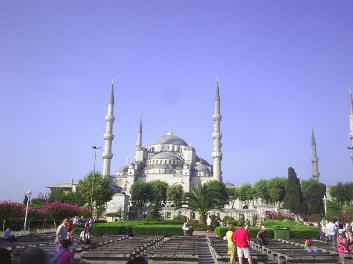 Estambul. Mezquita de Sultanahmet o Azul