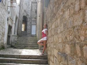 Strada in Cetatea de la Dubrovnik