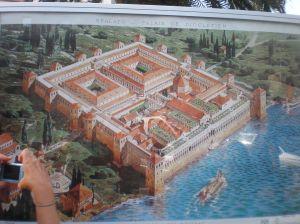 Palatul lui Diocletian- macheta