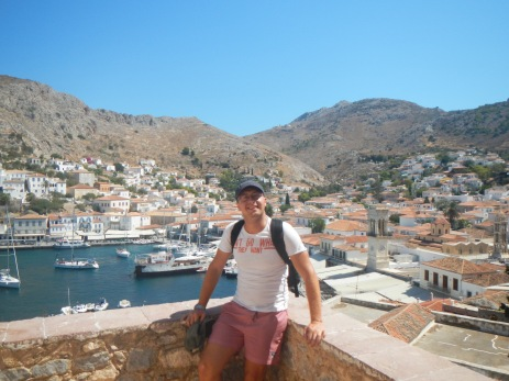 Panorama port Hydra