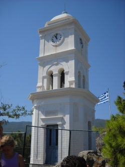 Poros clock tower