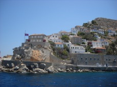 Old village of Hydra Island