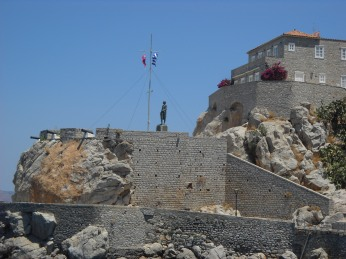 Statue of Andreas Miaoulis-Hydra Island