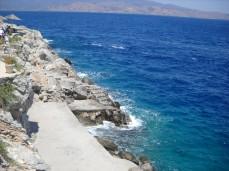 Plaja in Hydra