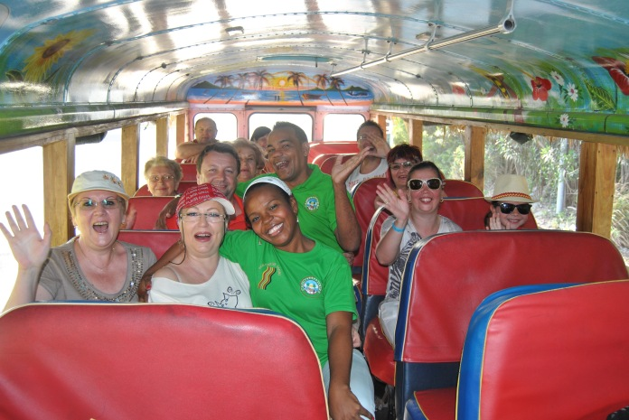 Republica Dominicana -Eco Caribe Tour-Happy group :)