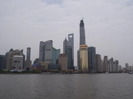 China - Shanghai -Pudong - zona districtului financiar