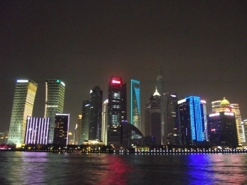 China - Shanghai -Pudong by night