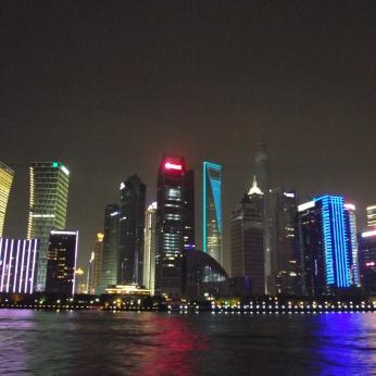 China - Shanghai -Pudong by night