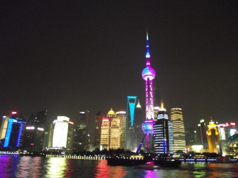 China - Shanghai -Pearl Tower By Night