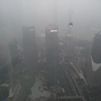China - Shanghai -Vedere din turnul Jin Mao