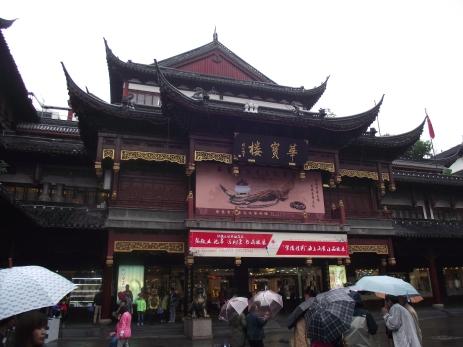 China - Shanghai -Town's God Temple, Shanghai