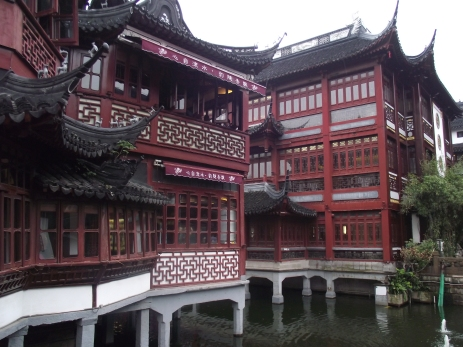 China - Shanghai -Intrare in gradinile Yuyuan