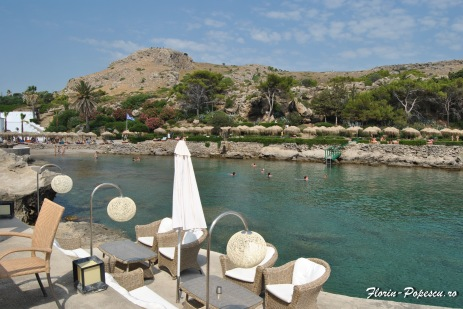 Kalithea Terme - Taverna si plaja