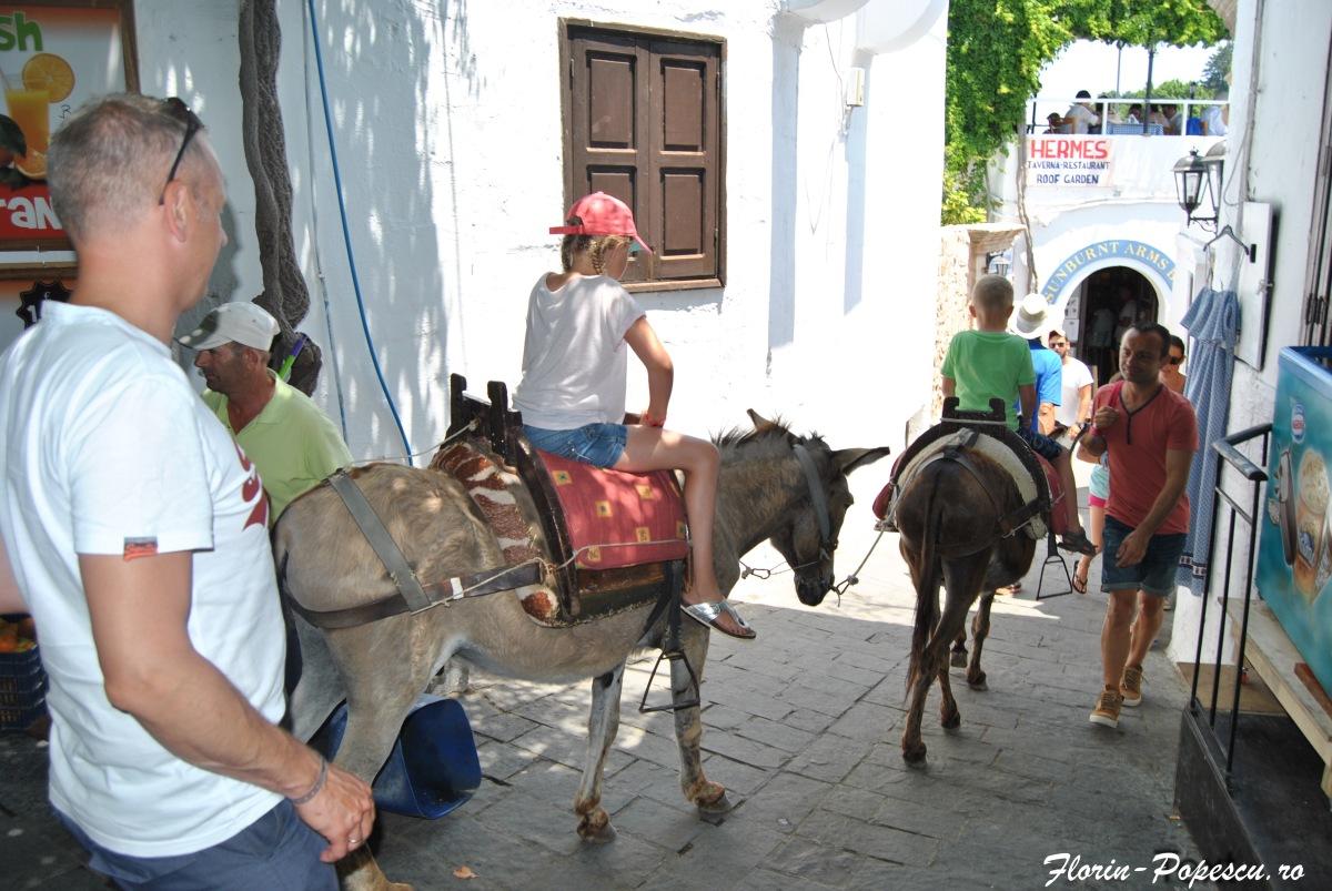 Lindos - Plimbare cu magarusul