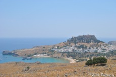 Lindos - Vedere panoramica