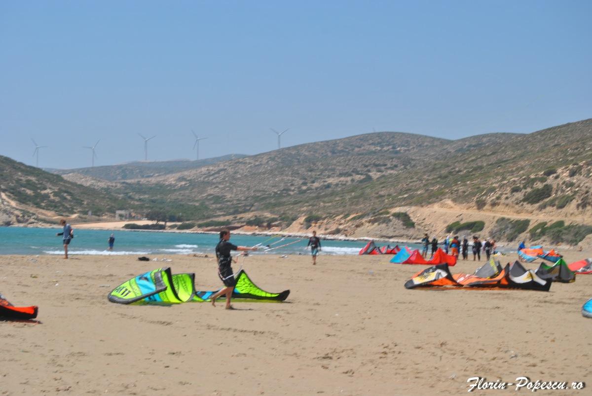 Prasonisi plaja -Paradisul sporturilor nautice