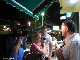 Rodos Town - Filmare de noapte